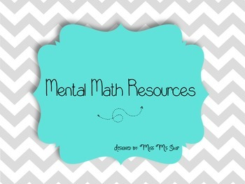 Mental Math Strategies {Aligned with CCSS}