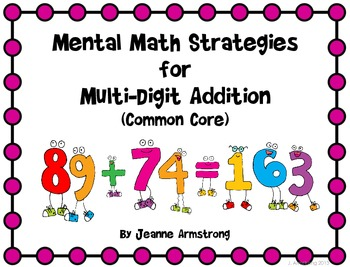 Mental Math Strategies for Multi-Digit Addition