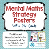 Mental Math Strategy Posters + Flip Cards