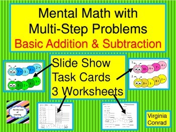 Mental Math Using Basic Facts in Multi-Step Problems