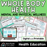 Mental and Physical Health for Elementary