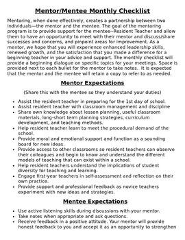 Mentor & Mentee Handbook