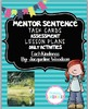 Mentor Sentence Pack 6 Assessment, Daily Work, Task Cards,