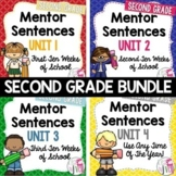 Mentor Sentence Units Bundle (Grade 2): 40 Weeks!