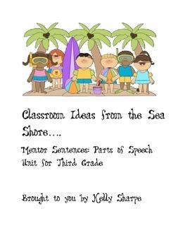Mentor Sentences: Parts of Speech- Classroom Ideas from th