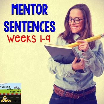 Grammar and Mechanics: Guided Sentences  {Weeks 1-9}