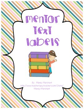 Mentor Text Labels