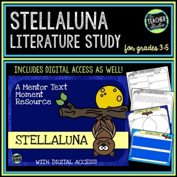 Mentor Text Moments:  Stellaluna by Janell Cannon