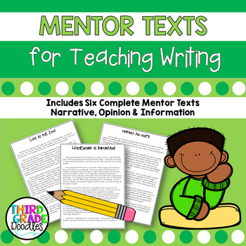 Common Core Writing - Opinion, Narrative, Informational Wr