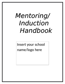 Mentoring and Teacher Induction Handbook