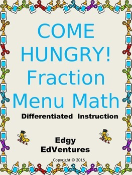 Menu Math Fractions