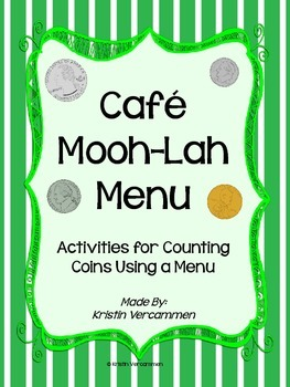 Menu for Counting Money