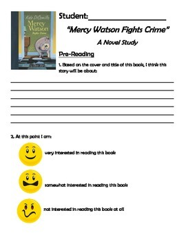 Mercy Watson Fights Crime Novel Study - Primary or Special