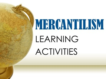 Mercantilism Learning Activities