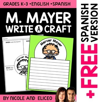 Mercer Mayer Author Study Craft