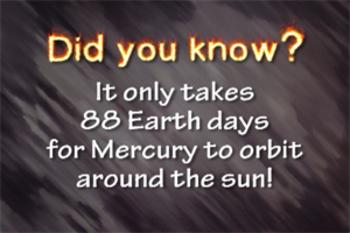 Mercury - Planet - Music Video Bundle - Songs About Planet