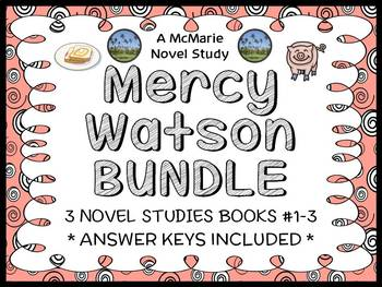 Mercy Watson BUNDLE (Kate DiCamillo) 3 Novel Studies : Boo