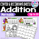 Mermaid Addition up to 10 ~Perfect for Mini-Erasers!~