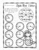 Mermaid - Spin the Time: Telling time :15 (quarter past) /