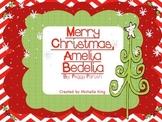 Merry Christmas Amelia Bedelia- Reading Response Activities