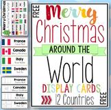 Merry Christmas Around the World Cards