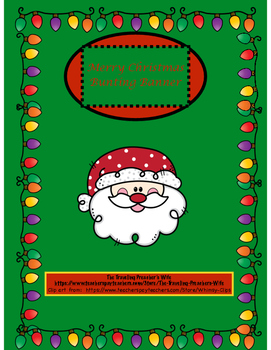 Merry Christmas Bunting Banner