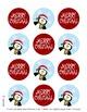 Merry Christmas Penguins Printables {Upzaz Digital Clipart}
