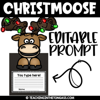 Merry Christmoose Clipart Free