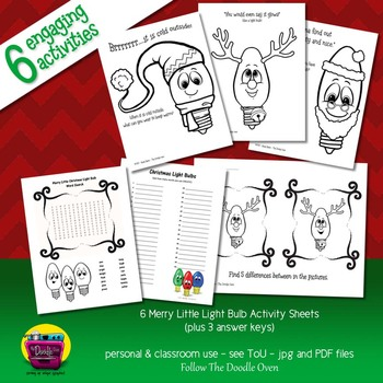 Christmas Print-Ready Fun Activity Pack
