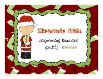 Merry Math Freebie  Sequencing K-1