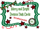 Merry and Bright Division (With Scaffolded Area Models) Ta