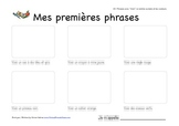 Mes premieres phrases (My First Sentences) - Reading compr