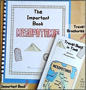 Mesopotamia ~ Ancient Civilizations ~ Travel Brochure & Im