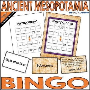 Mesopotamia Bingo