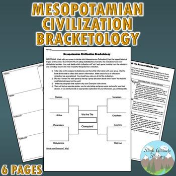 Mesopotamia Civilizations Bracketology Creative Writing As