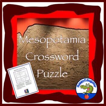 Mesopotamia Crossword Puzzle