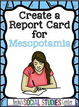 Mesopotamia Writing Project - Evaluate the Effectiveness o