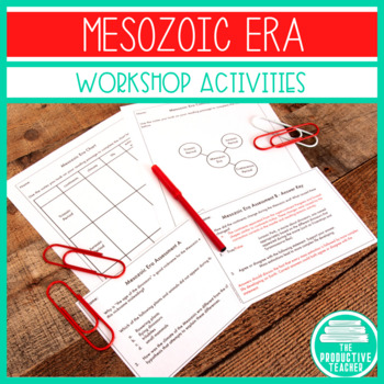 Mesozoic Era - Workshop Lesson and Reading Passage