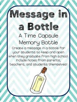 Message in a Bottle - A Time Capsule Project