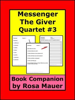 Messenger (Giver Quartet #3) Book Study