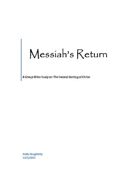 Messiah's Return - A Group Study of Christ's Second Coming