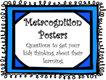 Metacognition Posters
