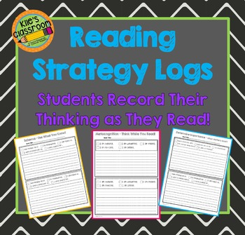 Metacognition Reading Strategy Stems - Reading Journal - R