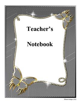 Metal Butterfly Notebook