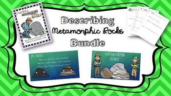 Describing Metamorphic Rocks Bundle