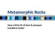 Metamorphic Rocks Powerpoint