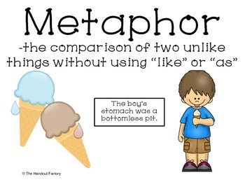 Metaphor Poster and Interactive Booklet