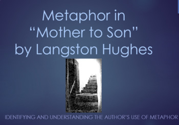Metaphor in Mother to Son by Langston Hughes