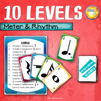 Meter & Rhythm 10 Levels - Center and Sub Activity