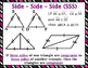 Congruent Triangles -  Proving Triangles Congruent & Simil